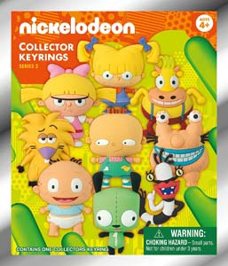 Nickelodeon 3d Collectible Key Ring Blind Bag