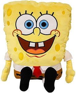 Nickelodeon Universe Spongebob Plush 24 Inch With Appliqued Eyes