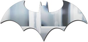 Paladone Dc Comics Officially Licensed Batman Logo Mirror