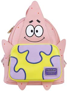 Patrick Faux Leather Mini Backpack