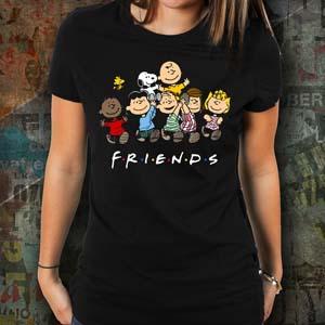 Peanuts X Friends T Shirt