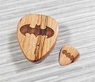 Personalized Batman Guitar Pick Box And Pick