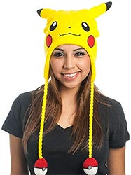Pikachu Big Face Laplander Beanie Hat