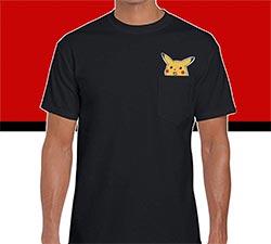 Pikachu Face Meme Shirt