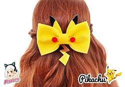 Pikachu Hair Bow
