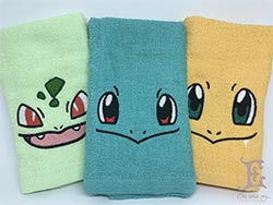 Pokemon Face And Hand Towels As A Housewarming Gift