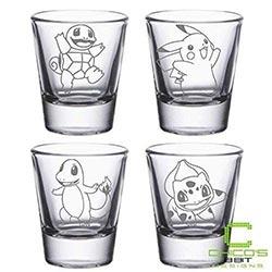 Pokemon Shot Glasses