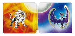 Pokemon Sun And Pokemon Moon Steelbook Dual Pack