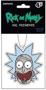 Rick And Morty Air Freshener Rick Head