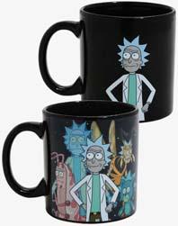 Rick And Morty Heat Changing Mug