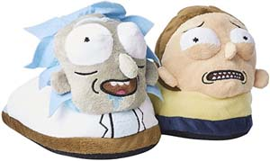 Rick And Morty Soft Mens Slippers