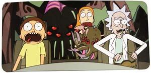 Rick And Morty Spaceship Car Window Sunshade