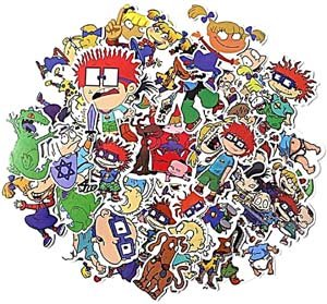 Rugrats Classic Cartoon Decal Stickers