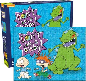 Rugrats Don't Be A Baby 500 Piece Puzzle