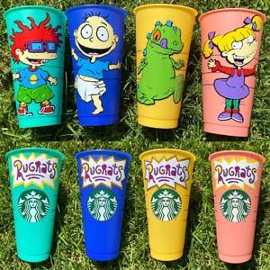 Rugrats Personalized Starbucks Tumbler