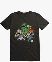 Rugrats Reptar Run Graffiti T Shirt