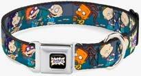 Rugrats Seatbelt Dog Collar