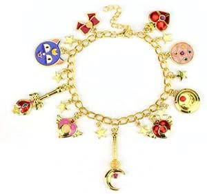 Sailor Jewlery Moon Charm Bracelet For Women
