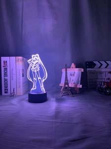 Sailor Moon Acrylic Light