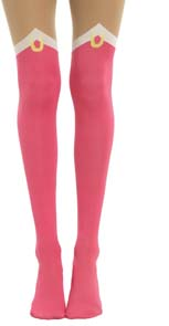 Sailor Moon Cosplay Faux Thigh High Tights