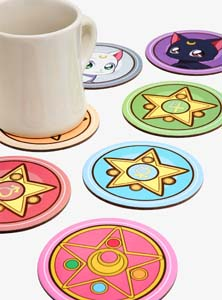 Sailor Moon Crystal Coaster Set