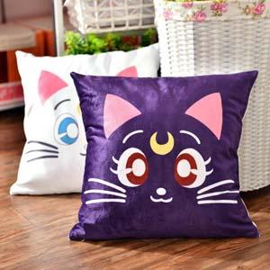 Sailor Moon Luna Artemis Cushion
