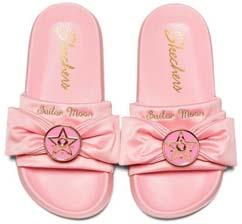 Sailor Moon X Skechers Pink Sandals