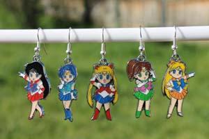 Sailor Scout Earrings