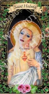Saint Hedwig Prayer Candle