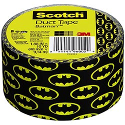 Scotch Brand 910 Btm Gidc Batman Glow In Dark Duct Tape