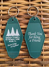 Shady Pines Keychain