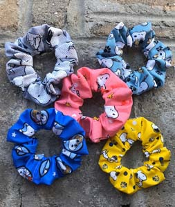 Snoopy Scrunchies