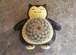 Snorlax Planters For Those Succs