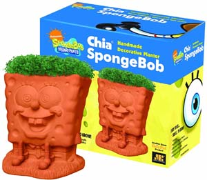 Spongebob Chia Pet With Seed Pack