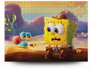 Spongebob And Gary Puzzle