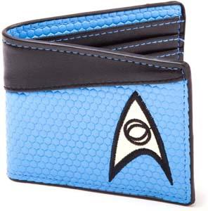 Star Trek Blue Bi Fold Wallet
