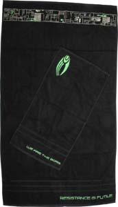 Star Trek Borg Bath And Hand Towel Set