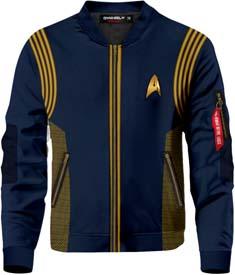 Star Trek Discovery Bomber Jacket
