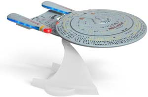 Star Trek U.s.s. Enterprise 1701 D – Enterprise Replica Bluetooth Speaker