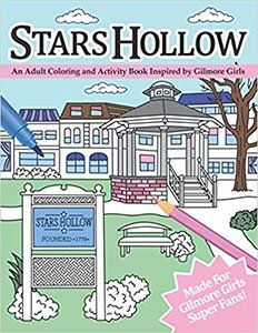Stars Hollow Adult Coloring Book