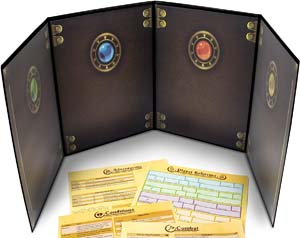 Stratagem The Masters Tome 4 Panel Customizable Gm Screen