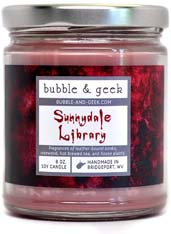 Sunnydale Library Scented Soy Candle