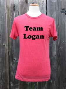 Team Logan T Shirt