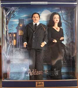 The Addams Family Barbie And Ken Collectible Dolls