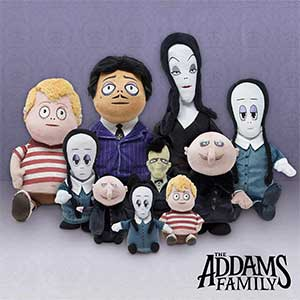 The Addams Family Cuddle Barn Plush Toys