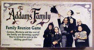 The Addams Family Family Reunion Board Game