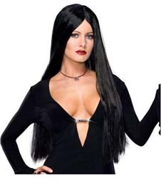 The Addams Family Morticia Deluxe Wig