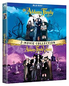 The Addams Family Movie Blu Ray Collection