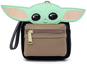 The Child Loungefly Wristlet Star Wars The Mandalorian