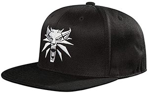 The Witcher 3 White Wolf Medallion Snapback Hat